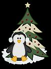 Christmas Penguin  by LoneAngel