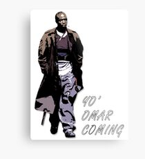 Omar Little Metal Print