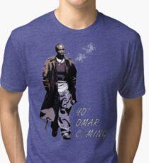 Omar Little Tri-blend T-Shirt