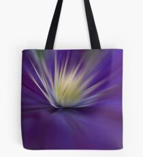 Clematis - Abstract Tote Bag