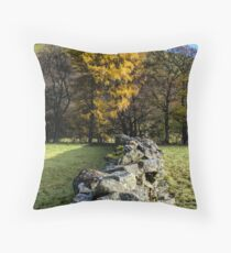 Dry Stone Walling Throw Pillow