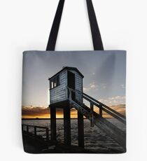 Lindisfarne Causeway Tote Bag