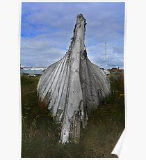 Lindisfarne Boat Poster