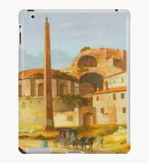 Ruin Building and spire landscape iPad Case/Skin