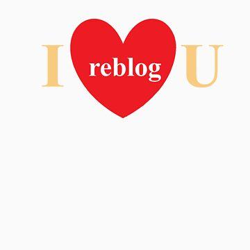 I reblog U black version by ieatmusic