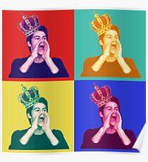 Dylan O'Brien pop art Poster
