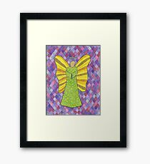 Military Angel Framed Print