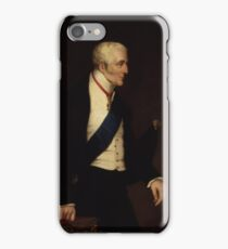 Arthur Wellesley 1st Duke of Wellington by Alfred Count DOrsay.  iPhone Case/Skin
