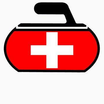 Switzerland Curling by the-splinters