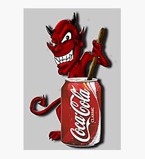 Coke Is The Devil Photographic Print
