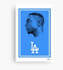 "Kendrick Lamar ""Los Angeles"" Canvas Print"