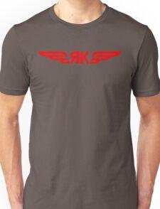 Yakovlev Aircraft Logo    Red Unisex T-Shirt
