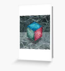 Aluminu, Cube RGB Greeting Card