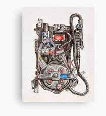 Ghostbuster Proton Pack Canvas Print