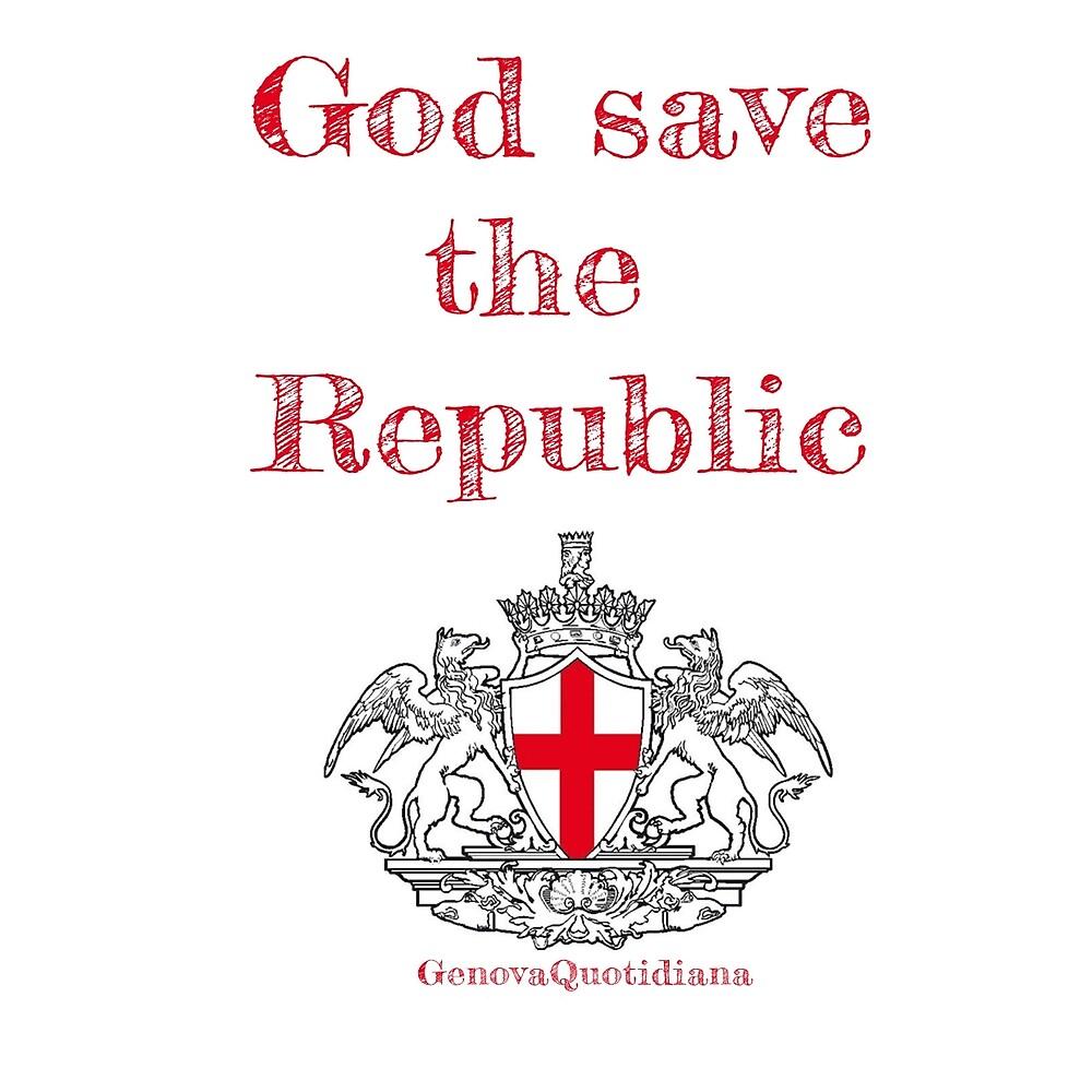 God Save The Republic by Genova Quotidiana