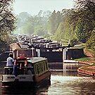Hatton Flight, Grand Union Canal. by Roy  Massicks