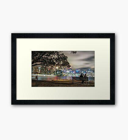 Balmain Love Framed Print