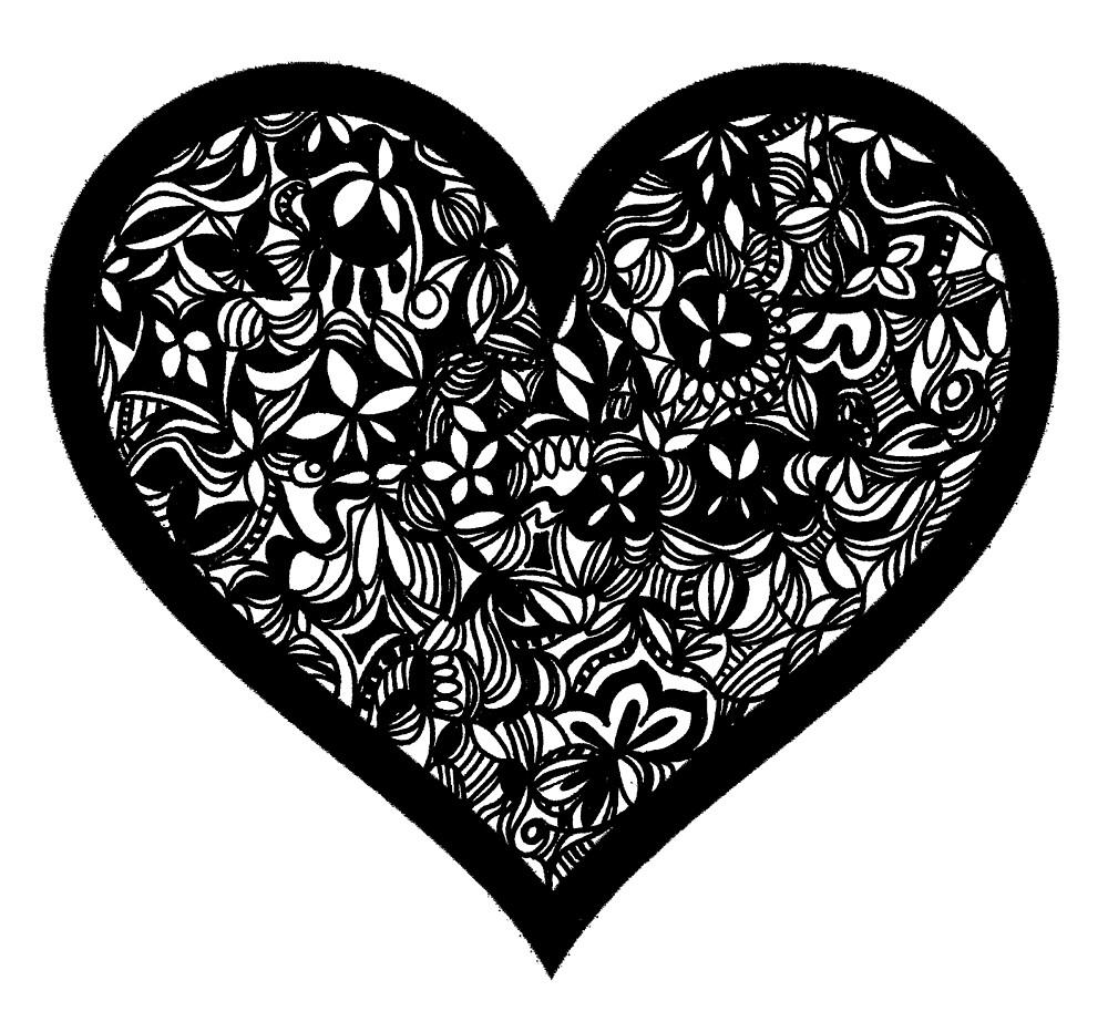 Heart by jhnette