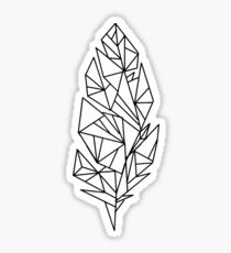 Feather Tattoo - Kian Lawley  [Original] Sticker