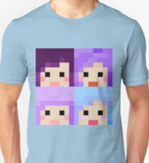 iHasCupquake Minecraft Skin Collection T-Shirt