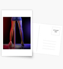 striptease Postcards