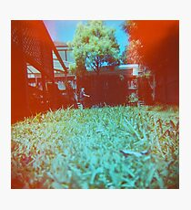 Lawnmowing Photographic Print