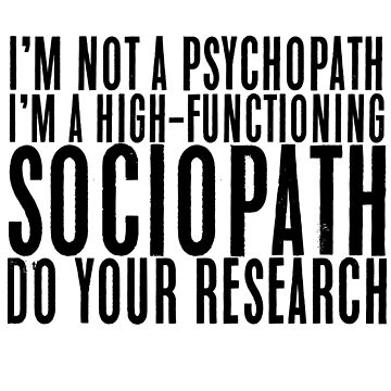 """""""I'm not a psychopath.."""" Sherlock Quote by fandomquotes"""