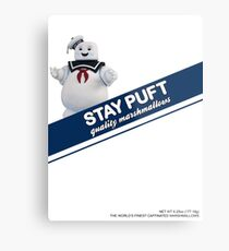 Stay Puft Marshmallow  Metal Print