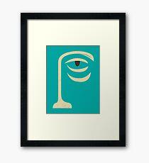 YOGI Framed Print