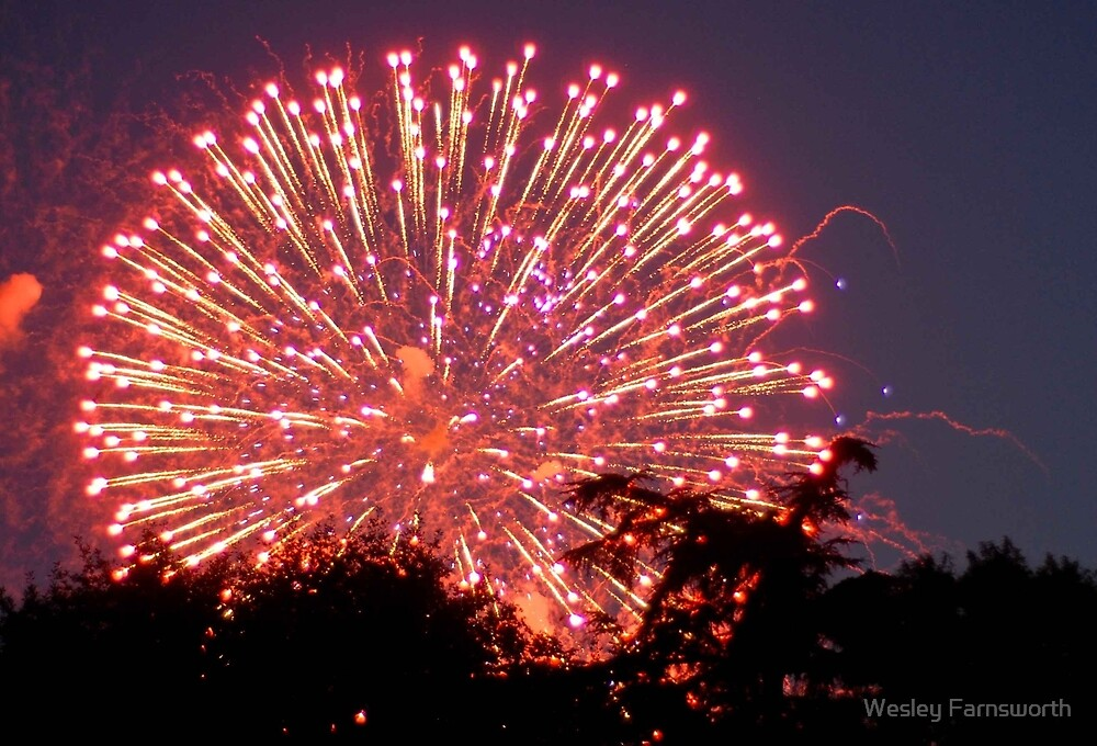 Fireworks 1 by Wesley Farnsworth