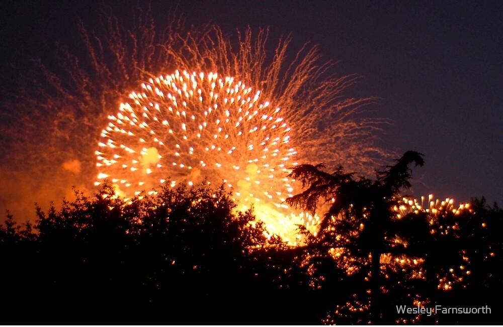 Fireworks 2 by Wesley Farnsworth