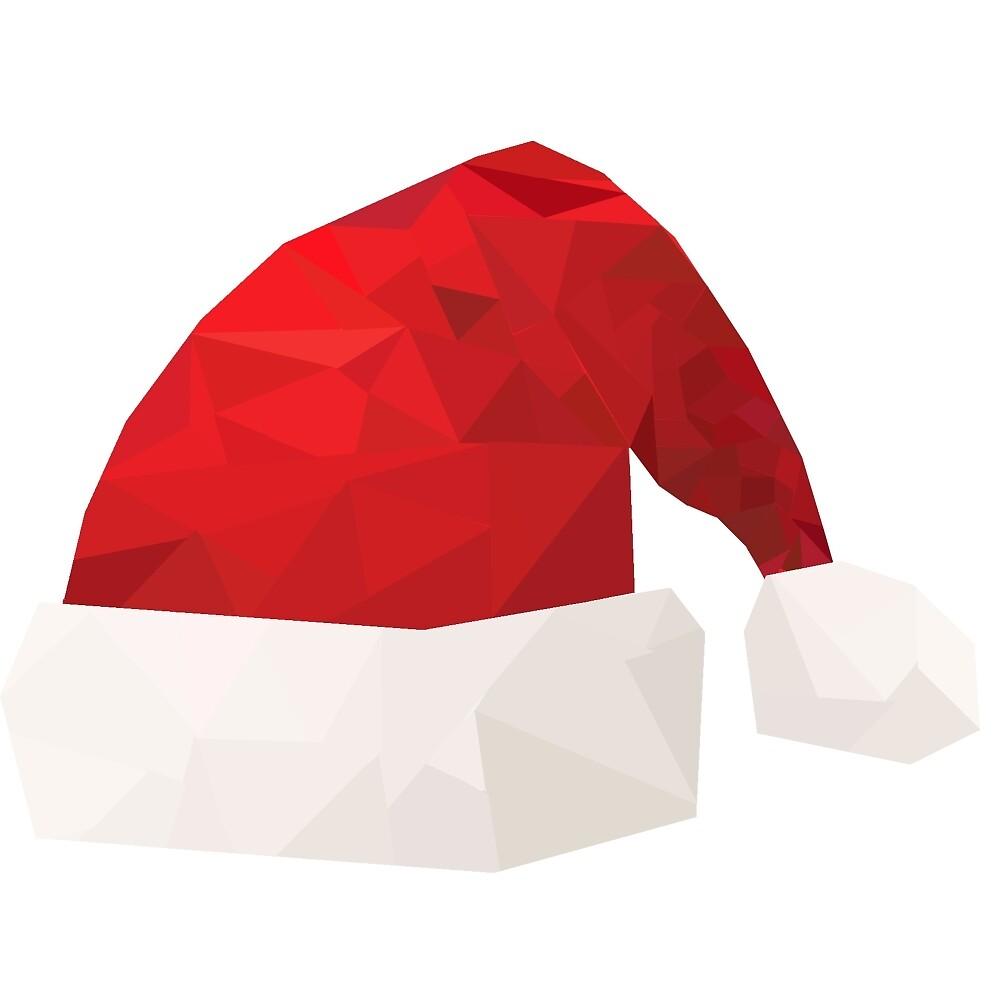 Low poly Santa Claus hat by Krysalyd