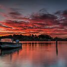 Red Sky at Night by bazcelt