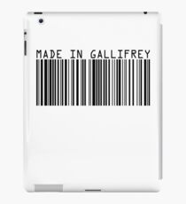 Made In Gallifrey iPad Case/Skin