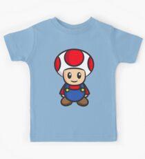Mario Toad Kids Tee