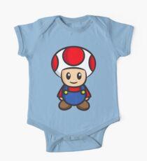 Mario Toad One Piece - Short Sleeve