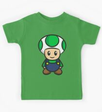 Luigi Toad Kids Tee