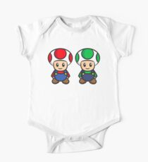 Super Mario Toads (without writing) One Piece - Short Sleeve