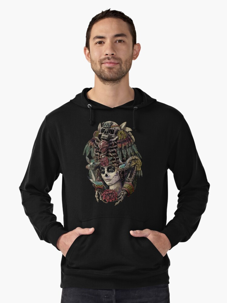 Day of the Dead (Ancient Guardians) Lightweight Hoodie Front