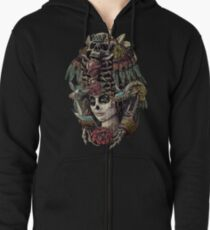 Day of the Dead (Ancient Guardians) Zipped Hoodie