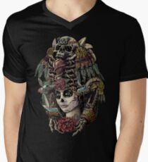 Day of the Dead (Ancient Guardians) Men's V-Neck T-Shirt