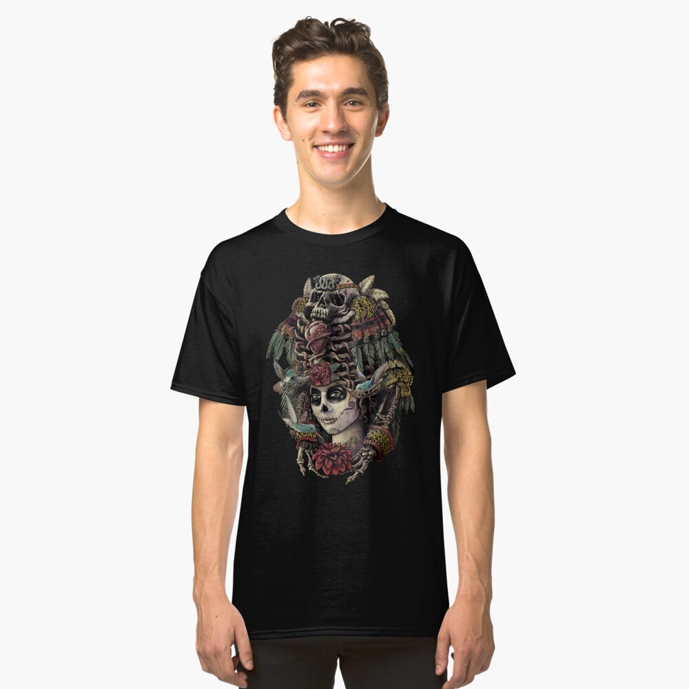 Day of the Dead (Ancient Guardians) Classic T-Shirt Front