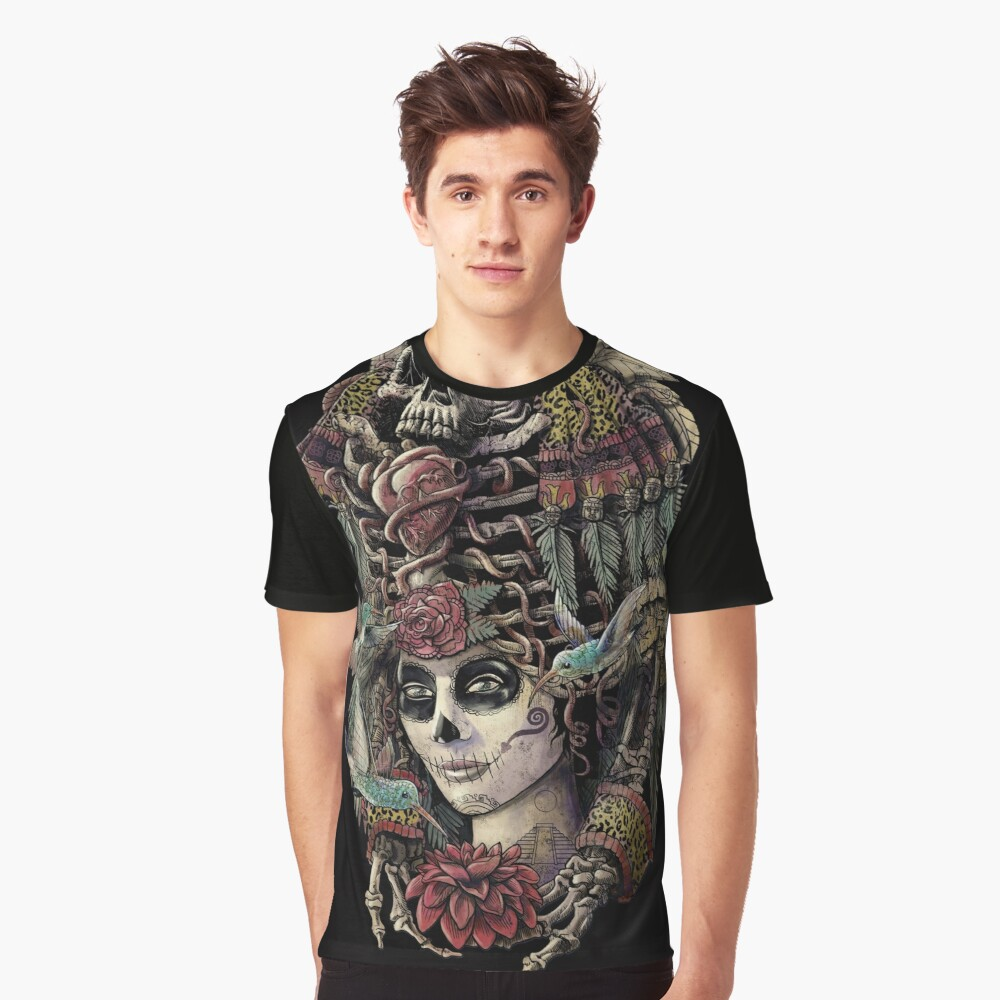 Day of the Dead (Ancient Guardians) Graphic T-Shirt Front