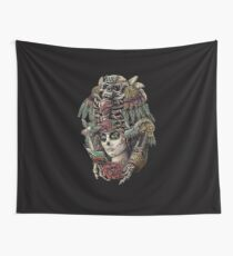 Day of the Dead (Ancient Guardians) Wall Tapestry