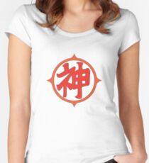 神 Women's Fitted Scoop T-Shirt