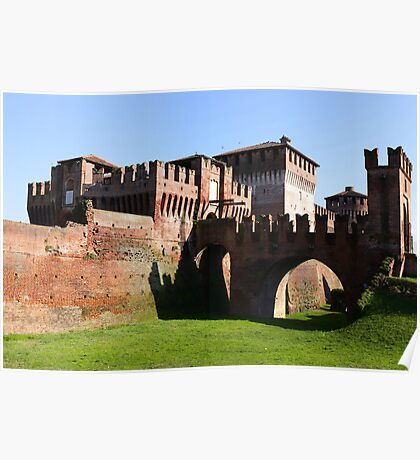 Soncino Castle Poster
