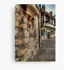 York Canvas Print