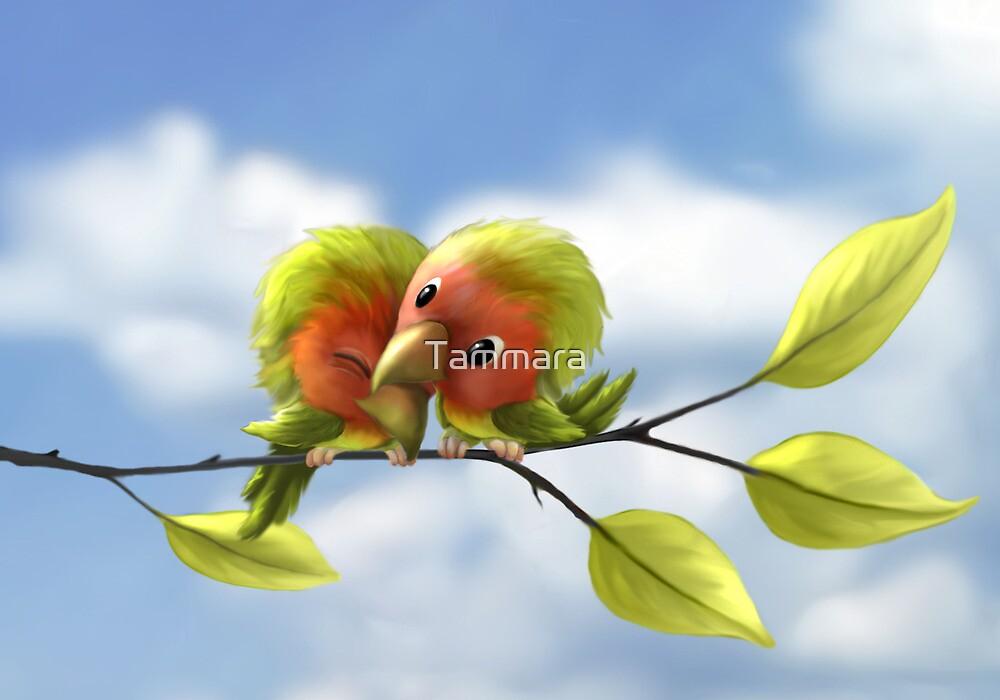 Lovebirds by Tammara