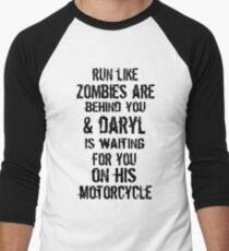 Run Like Daryl Is Waiting Men's Baseball ¾ T-Shirt