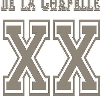 XX de la Chapelle by bishieboy